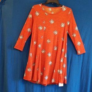 Dresses & Skirts - Orange tiger dress